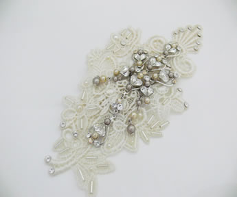 Melanie Lace Hair comb by Say Bella